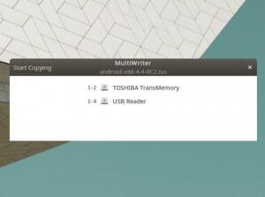 gnome-mutli-writer sur Ubuntu pour créer des clés USB