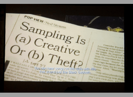 Sampling is a creative or theft ?