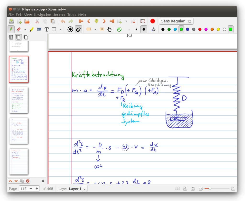 LibreOffice Panneau latéral